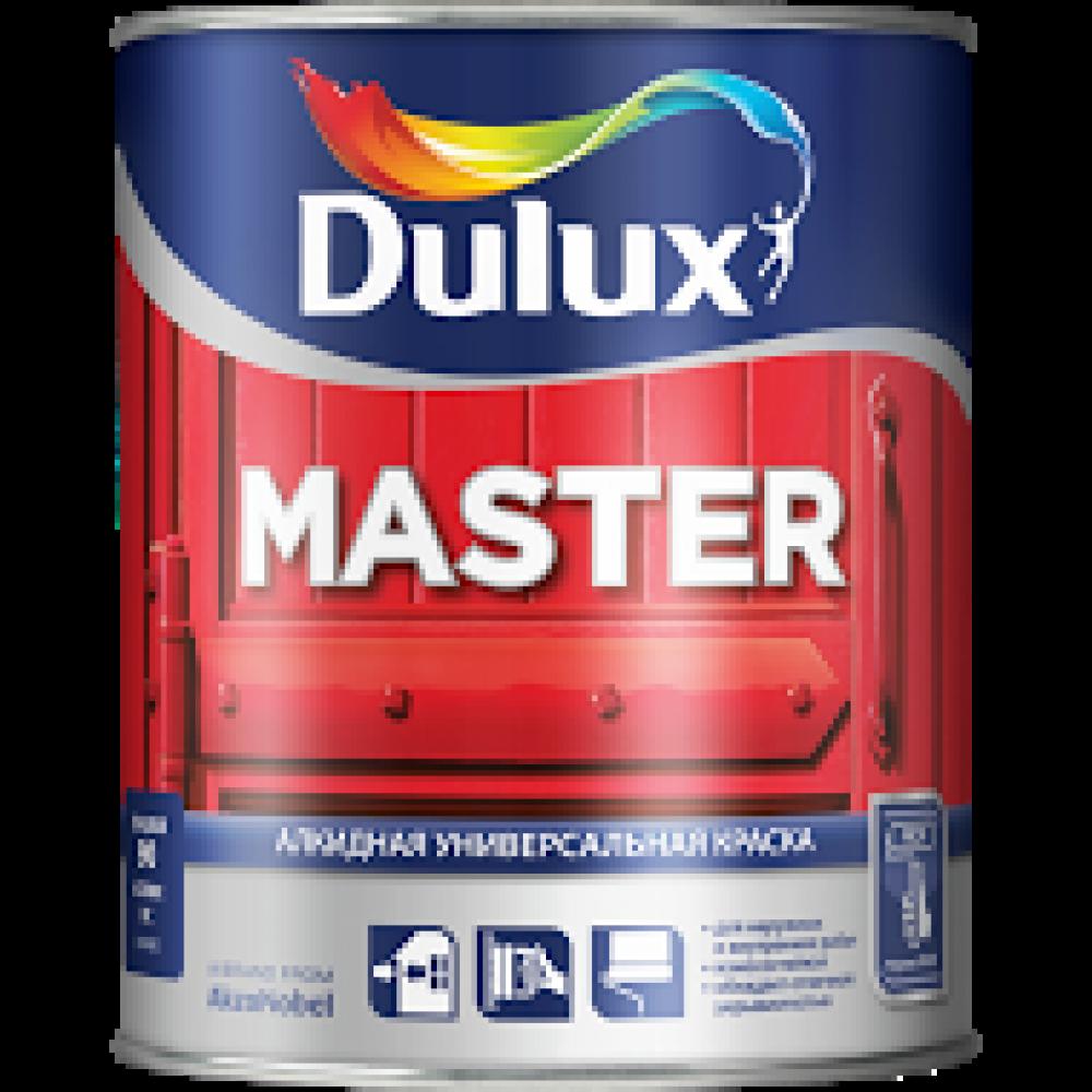 Dulux Master 30 / Дулюкс Мастер 30 Полуматовая  эмаль универсального применения